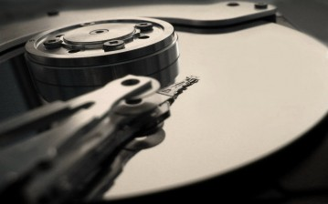 Hdd, reading data, Black обои