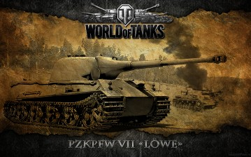 PzKpfw VII Löwe, World of Tanks обои