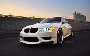 E92, m3, Bmw, white, eas обои