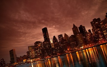 NYC, manhattan, city обои