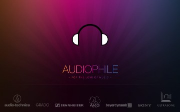 Audiophile, music, brands обои