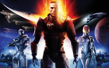 Планеты, soldiers, солдаты, Mass effect, game wallpapers, шепард, shepard, n 7 обои, картинки, фото