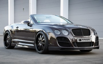 Bentley continental gt cabriolet, prior design, tuning, машина, car, 2500x1563, автомобили, машины,  обои