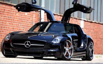 Мерседес, mercedes, benz, sls, amg, mec-design, авто , тачки, авто , cars, auto wallpapers, автомоби обои