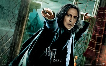 Harry potter and the deathly hallows, alan rickman, part 2, hp 7, Harry potter 7, hogwarts обои