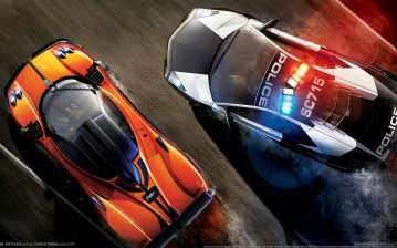 Need for speed, pagani, zonda, lamborghini, police, racer обои, картинки, фото