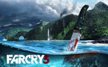 Far cry, water, игры обои