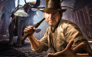 Indiana jones and the staff of kings (wallpapers) обои