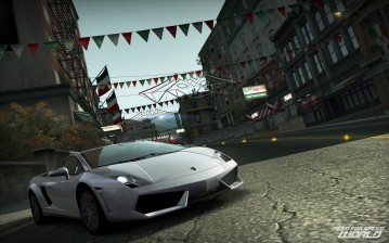 Nfs, need for speed, need for speed world, город, дорога, кадр обои