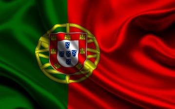 Portugal, satin, flag, Португалия, атласа, флаг обои, картинки, фото