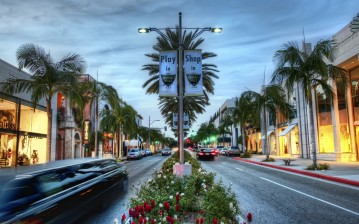 Shop, usa, Beverly hills, road, california, los angeles, hollywood, калифорния, la обои