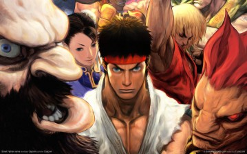 Street Fighter series обои