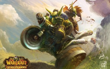 Goblin, cataclysm, гоблин, арт, катаклизм, wow, world of warcraft обои