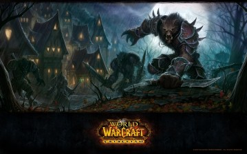 Воргены из WoW: Cataclysm обои