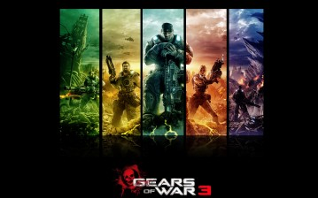 Gears of War 3, Pandorum, Игра обои