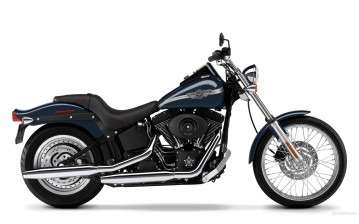 Harley-Davidson, Softail, FXSTB Night Train, FXSTB Night Train 2003, мото, мотоциклы, moto, motorcyc обои