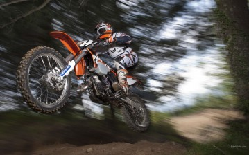 KTM, Offroad, 125 EXC, 125 EXC 2012, мото, мотоциклы, moto, motorcycle, motorbike обои
