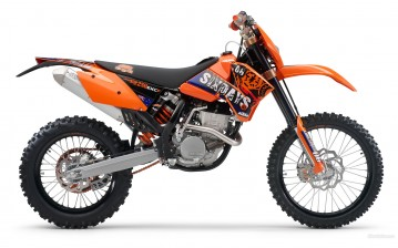 KTM, Offroad, 250 EXC-F, 250 EXC-F 2007, мото, мотоциклы, moto, motorcycle, motorbike обои