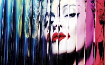 Photo album cover, Madonna, mdna обои