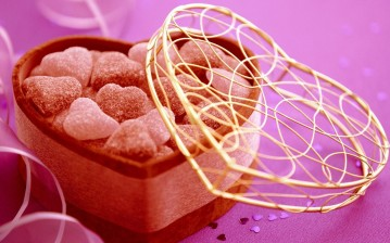 Candy, holiday, конфеты, сладости, sweets, valentines candy, gift, valentines day обои
