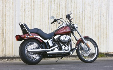 Harley-Davidson, Softail, FXSTC Softail Custom, FXSTC Softail Custom 2009, мото, мотоциклы, moto, mo обои